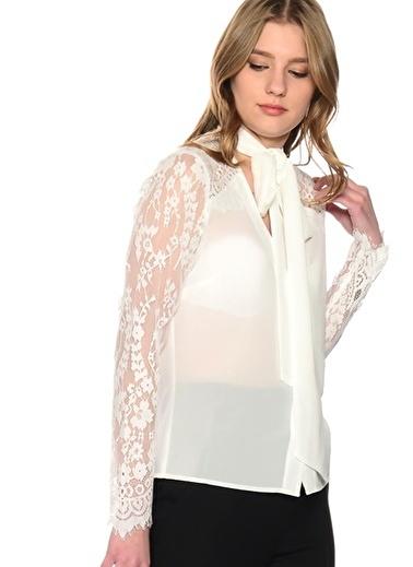 Lipsy Bluz Beyaz